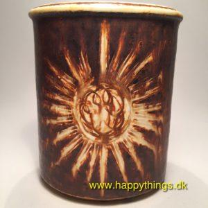 www.happythings.dk_140_Søholm_SOL_3650-2_vase_brunlig_keramik_02