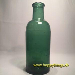 www.happythings.dk_291_glasflaske_grøn_flaskegrøn_gammel_02