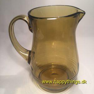 www.happythings.dk_310_glaskande_gulbrun_brun_glas_kande_gammel_03