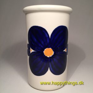 www.happythings.dk_378_Knabstrup_vase_blå blomst_02
